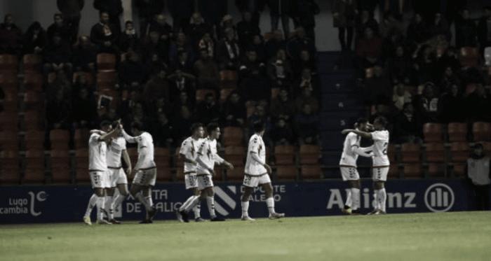 Celebración de gol del Rayo Majadahonda. www.laliga.es