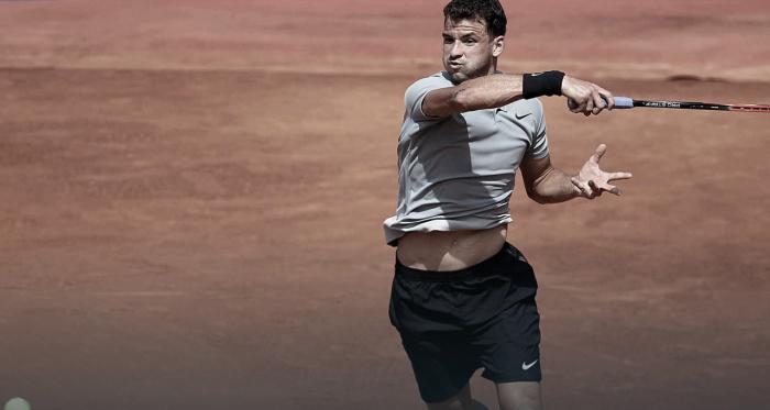 Grigor Dimitrov en el ATP 500 de Barcelona 2018 | Foto: Barcelona Open Banc Sabadell