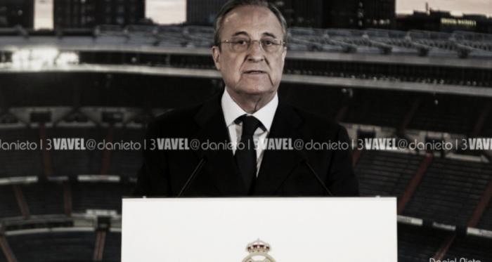 Florentino Pérez en un acto del Real Madrid. Foto: Daniel Nieto (VAVEL).