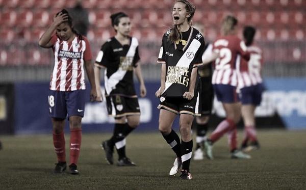 Marta tras un partido   Foto: Rayo Vallecano S.A.D.
