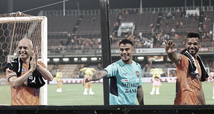 Carlinhos projeta boa sequência do Shimizu S-Pulse na J-League