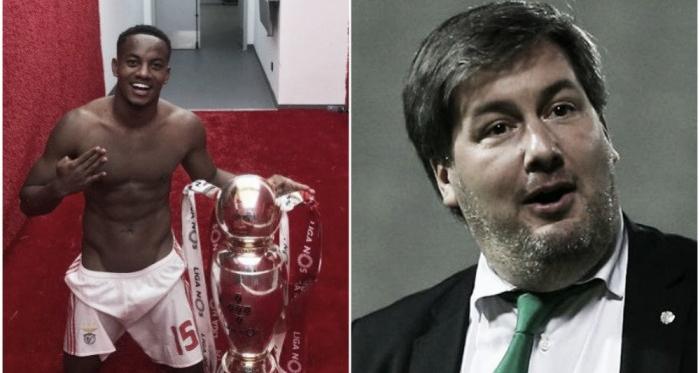 André Carrillo llegó al Benfica en 2016, procedente del Sporting de Lisboa. (Montaje: Luis Burranca - VAVEL)