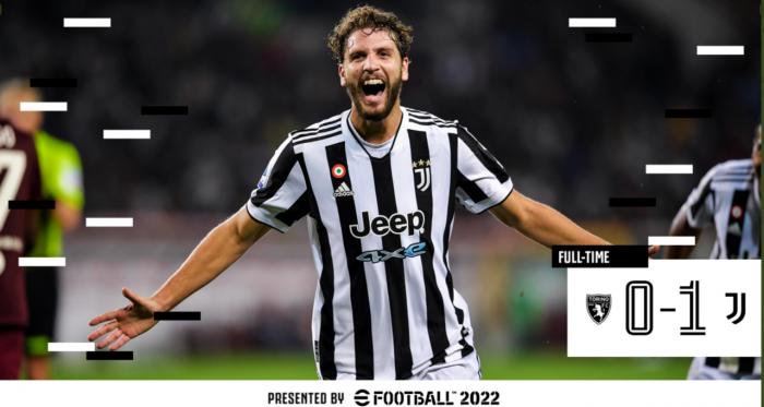 Alla Juventus il Derby della Mole: Locatelli mette KO il Torino (0-1)