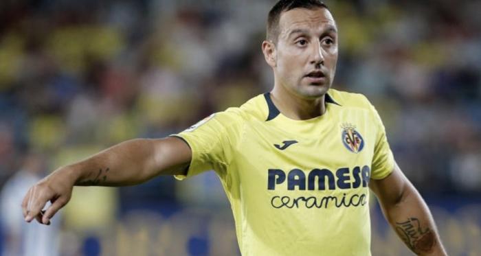 Santi Cazorla en un partido con el Villareal. Fuente: LaLiga.