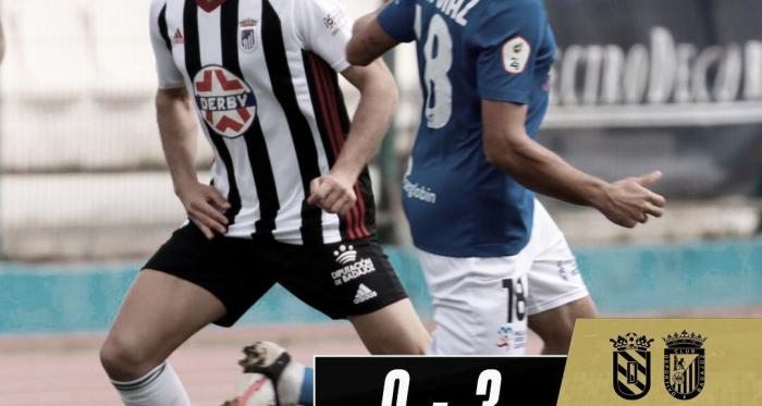 El CD Badajoz acaba la primera fase goleando