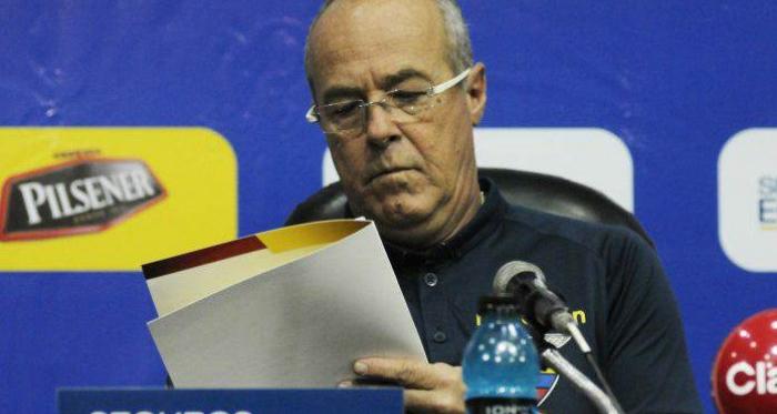 Convocatoria de Jorge Célico para la culminación de las eliminatorias al Mundial de Rusia en el 2018