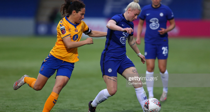 """""""Tonight's line-up clearly showed why my job is so difficult because everyone is good enough to start."""" - Emma Hayes after Chelsea's cup win over Everton"""