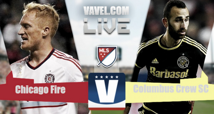 Live result of Columbus Crew SC vs Chicago Fire