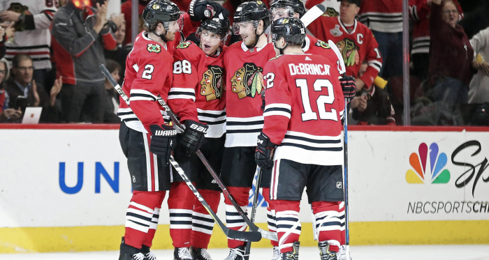 5 Crazy Chicago Blackhawks 2018/19 predictions. | Photo: Dennis Wierzbicki-USA TODAY Sports