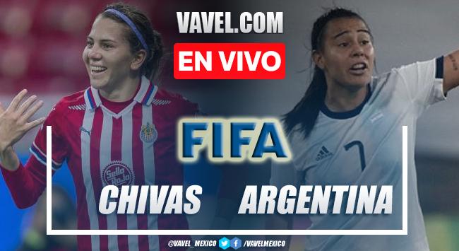 Chivas Femenil vs Argentina Femenil EN VIVO: ¿cómo ver transmisión TV online en partido amistoso 2021?