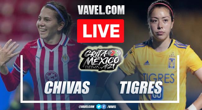 Goals and Highlights: Chivas Femenil 1-1 Tigres Femenil in Liga MX Femenil 2021