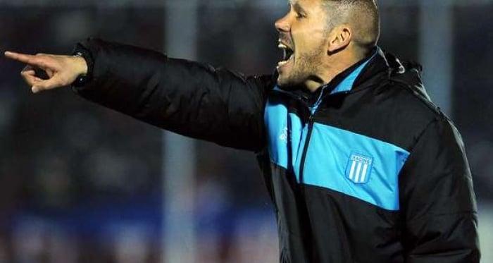 Diego Simeone, de Racing a la Champions