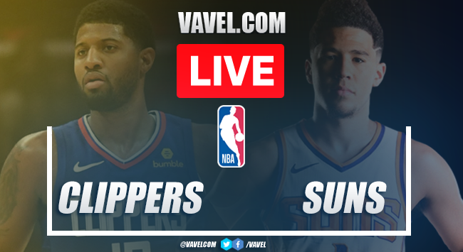 Los Angeles Clippers vs Phoenix Suns: Live Stream, Score Updates and How to Watch NBA Match