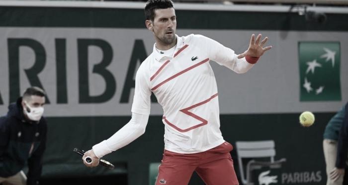Fácil y entretenido debut de Novak Djokovic