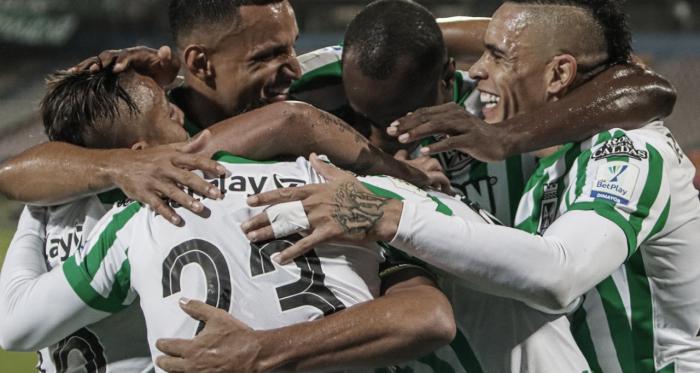 Resumen y goles: Nacional 1-0 Deportivo Cali en la vuelta de la semifinal de la Copa BetPlay 2021