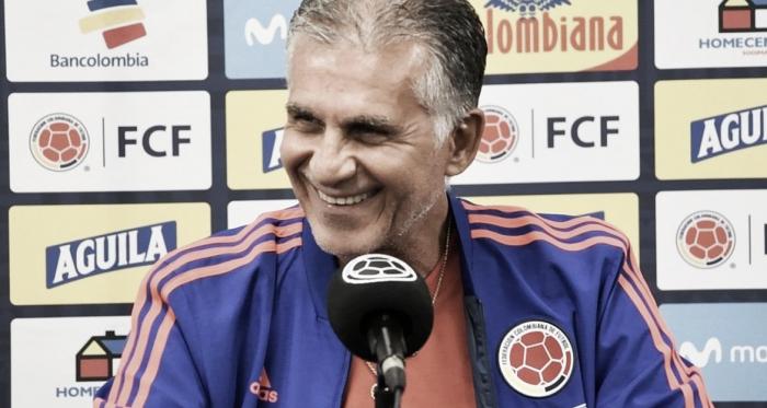 La primera convocatoria de Carlos Queiroz rumbo a Catar 2022