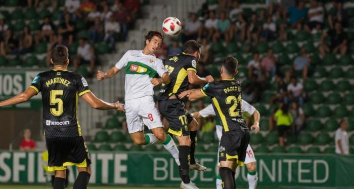 Lance del último enfrentamiento del Granada en Copa. Foto: Granada CF.