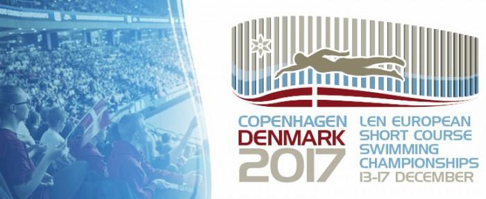 Cartel del campeonato europeo absoluto de piscina corta de Copenhague. / Foto: LEN