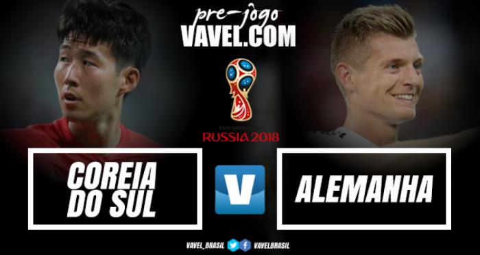 Alemanha e Coreia do Sul fazem uma das 'finais' por vagas do Grupo F