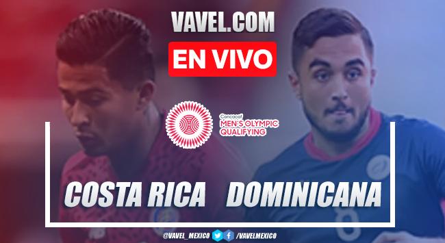Goles y Resumen del Costa Rica 5-0 República Dominicana, Preolímpico CONCACAF 2021