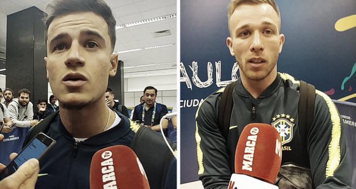 Coutinho y Arthur. Diario Marca