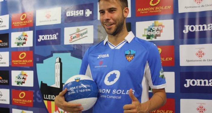 Cristian Gómez, el primero en llegar al Lleida Esportiu