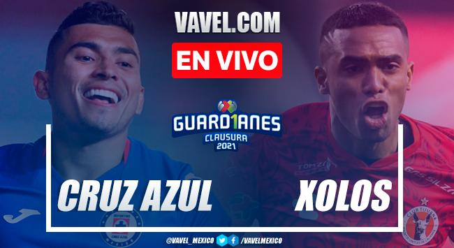 Goles y Resumen del Cruz Azul 1-1 Xolos, Jornada 17 Liga MX 2021