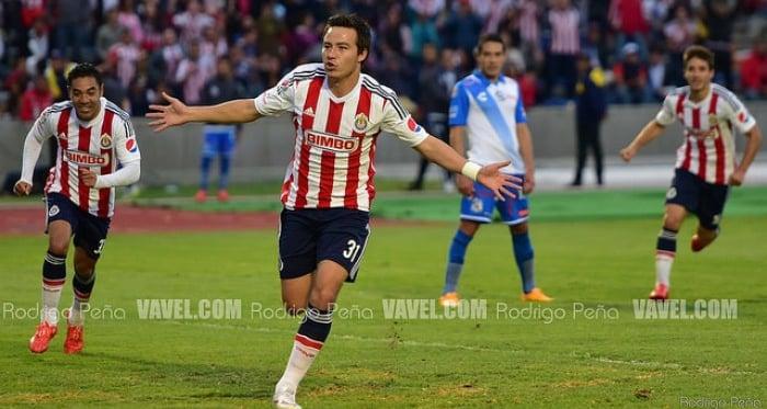 'Cubo' Torres celebrando su segundo gol de la noche (Foto: Rodrigo Peña / VAVEL)