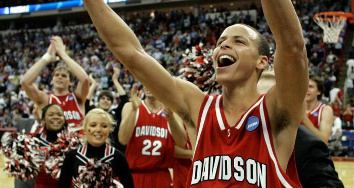 March Madness 2008: Chef Stephen Curry met ses premières sauces en NCAA pour créer le miracle Davidson