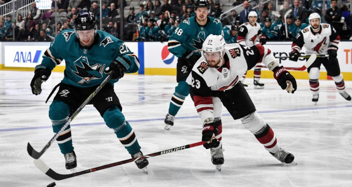 Arizona captain Oliver Ekman-Larsson played even after recovering from an injury. (Photo NHL.com):