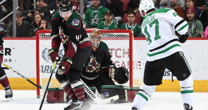 Darcy Kuemper came up with important saves when needed to help his team win. (Photo: NHL.com)