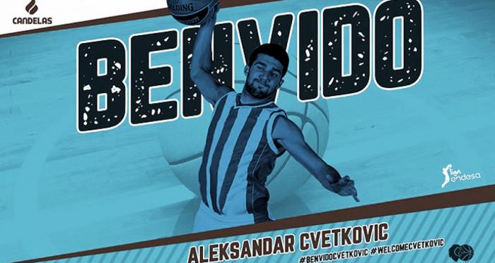 Cvetkovic completa la rotación gallega/ Foto: CBBreogan.com