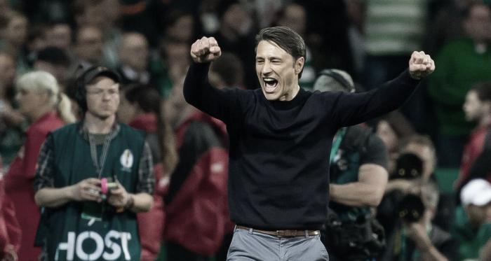 Niko Kovac garantiu a vitória após muito sufoco (Foto: DIvulgação/Bayern de Munique)<br>