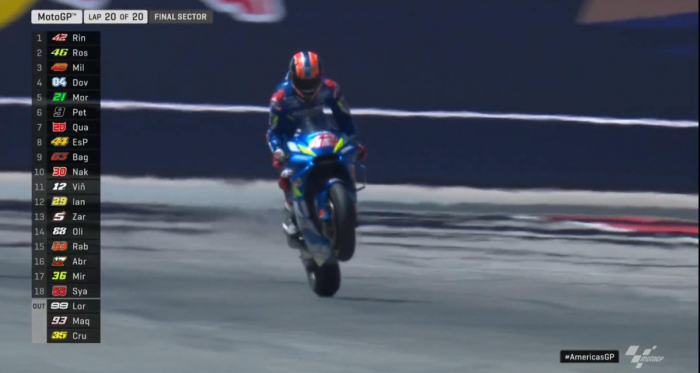 MotoGP Gp Austin- Pazza gara: cade Marquez, vince Rins
