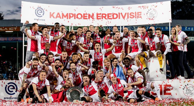 Eredivisie: l'Ajax è ufficialmente campione d'Olanda, ai playoff ci va il Groningen!