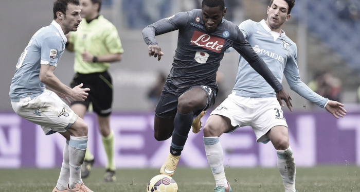O argentino Joaquin Correa foi um dos principais destaques da Lazio no confronto. (Foto: Lazio / Reprodução)