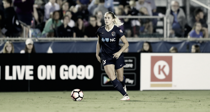 Abby Dahlkemper will be an allocated player this season | Source: Andy Mead-Isiphotos.com