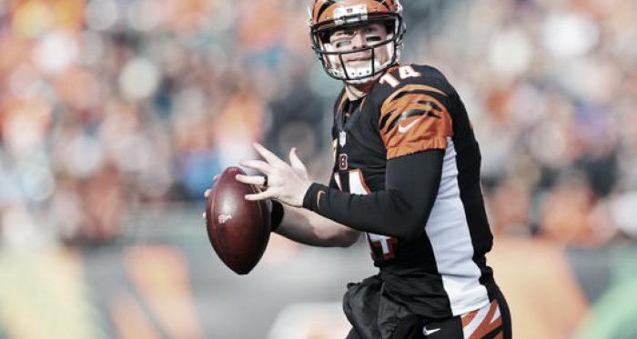 Andy Dalton leads the Cincinnati Bengals over the Baltimore Ravens.