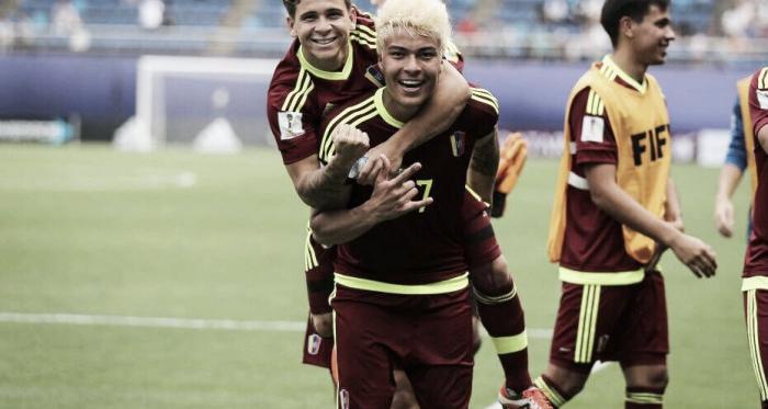 Adalberto Peñaranda ha dejado gratas sensaciones con la Vinotinto en el Mundial Sub-20 / www.fifa.com