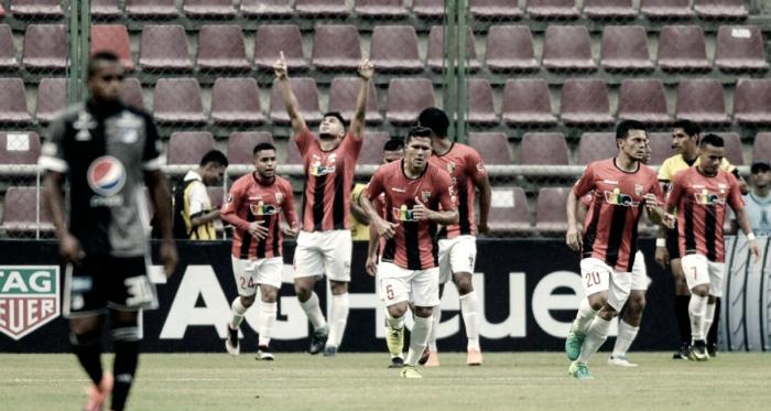 Carlos Sierra celebra su doblete / FOTO: Prensa Deportivo Lara