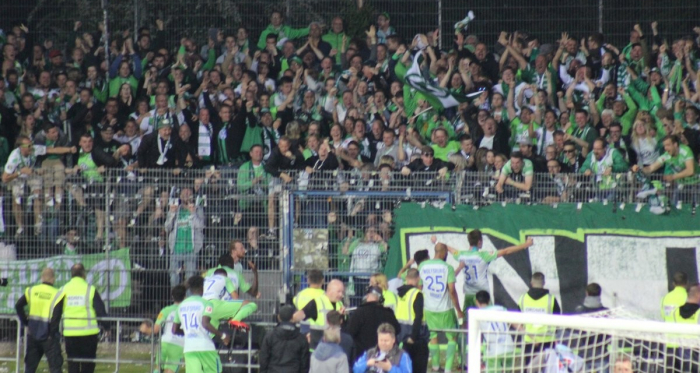 Source photo: twitter Wolfsburg