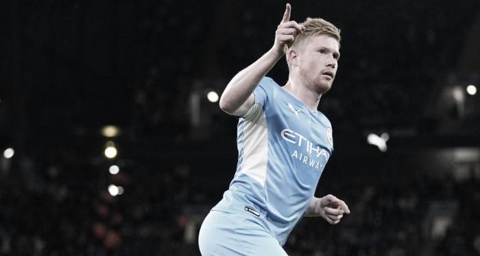 El City comenzó con el pie derecho la defensa de la Carabao Cup