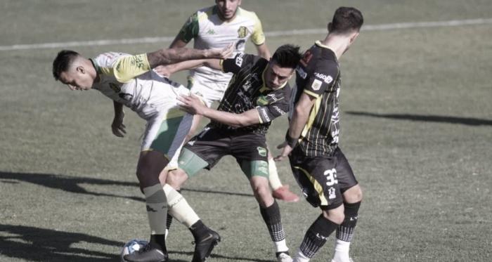 El gol se quedó en Sarandí
