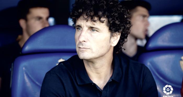 Imanol Idiakez, ex-entrenador del Real Zaragoza | Foto: LaLiga