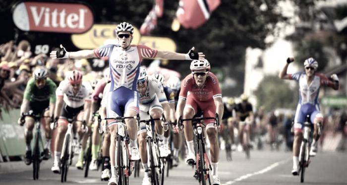 El Groupama-FDJ alcanzó su primera victoria en este Tour |Fuente: ASO