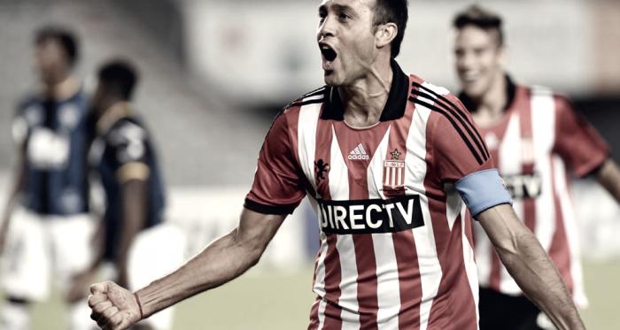 Leando Desábato, uno de los jugadores más queridos por el hincha de Estudiantes. Foto | Prensa Estudiantes de La Plata