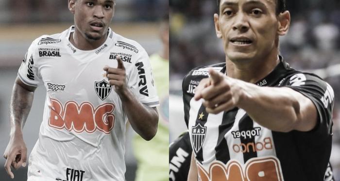 Alerrandro x Ricardo Oliveira: dúvidas para Rodrigo Santana sobre a titularidade do Atlético-MG