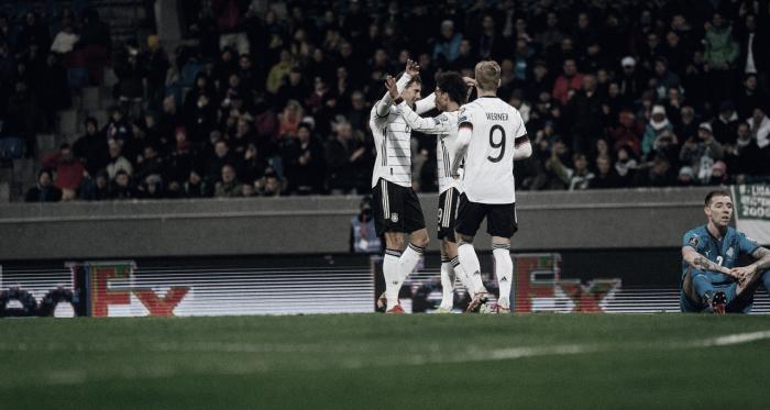 Sem sustos, Alemanha goleia Islândia fora de casa nas Eliminatórias Europeias da Copa do Mundo 2022