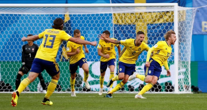 La Suède décroche son billet pour les quarts