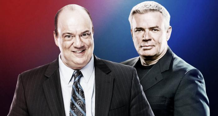 Paul Heyman y Eric Bischoff son contratados como directores ejecutivos/ Fuente: WWE